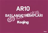 AR10 Keqing | Temiz Başlangıç Hesapları