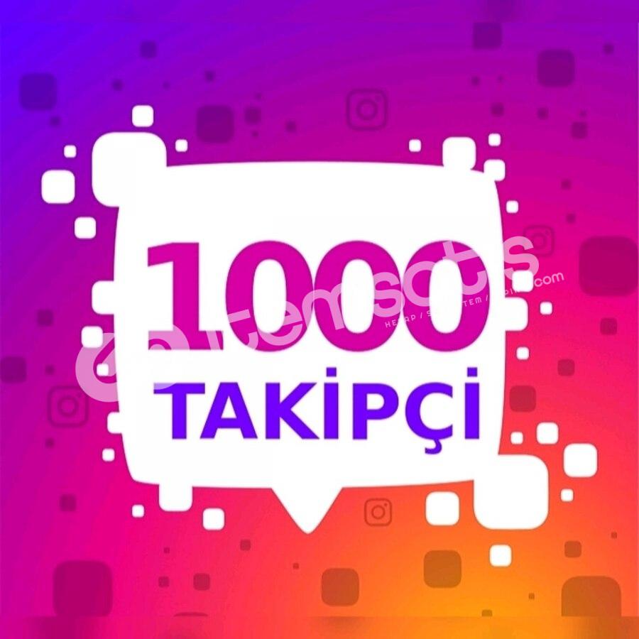 1000 Gerçek İnstagram Takipçi