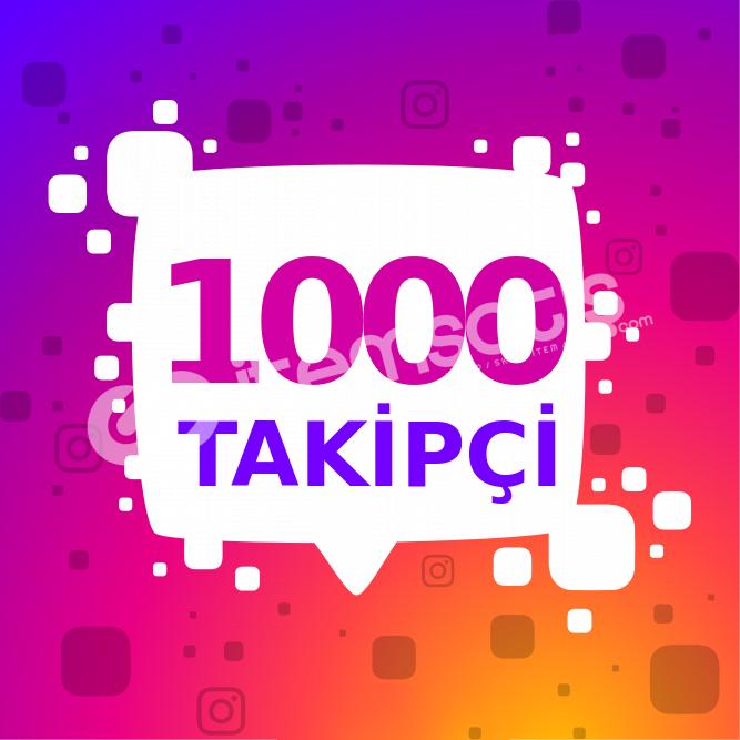 1000 ADET TÜRK-YABANCI KARIŞIK İNSTAGRAM TAKİPÇİ HİZMETİ 3TL