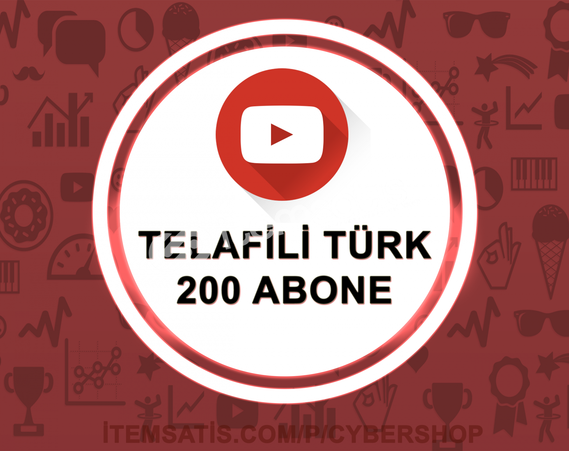 15 Gün Telafili Türk 100 Abone (Hızlı Teslimat)