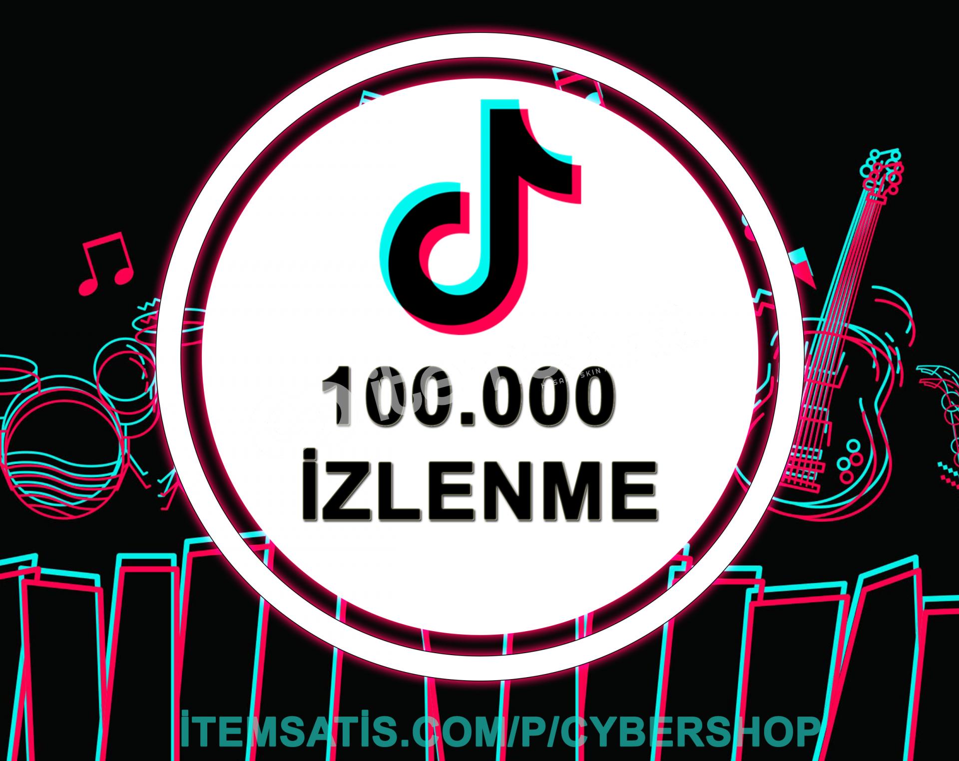 100.000 İzlenme Paketi (Keşfet Etkili + Anlık Gönderim)