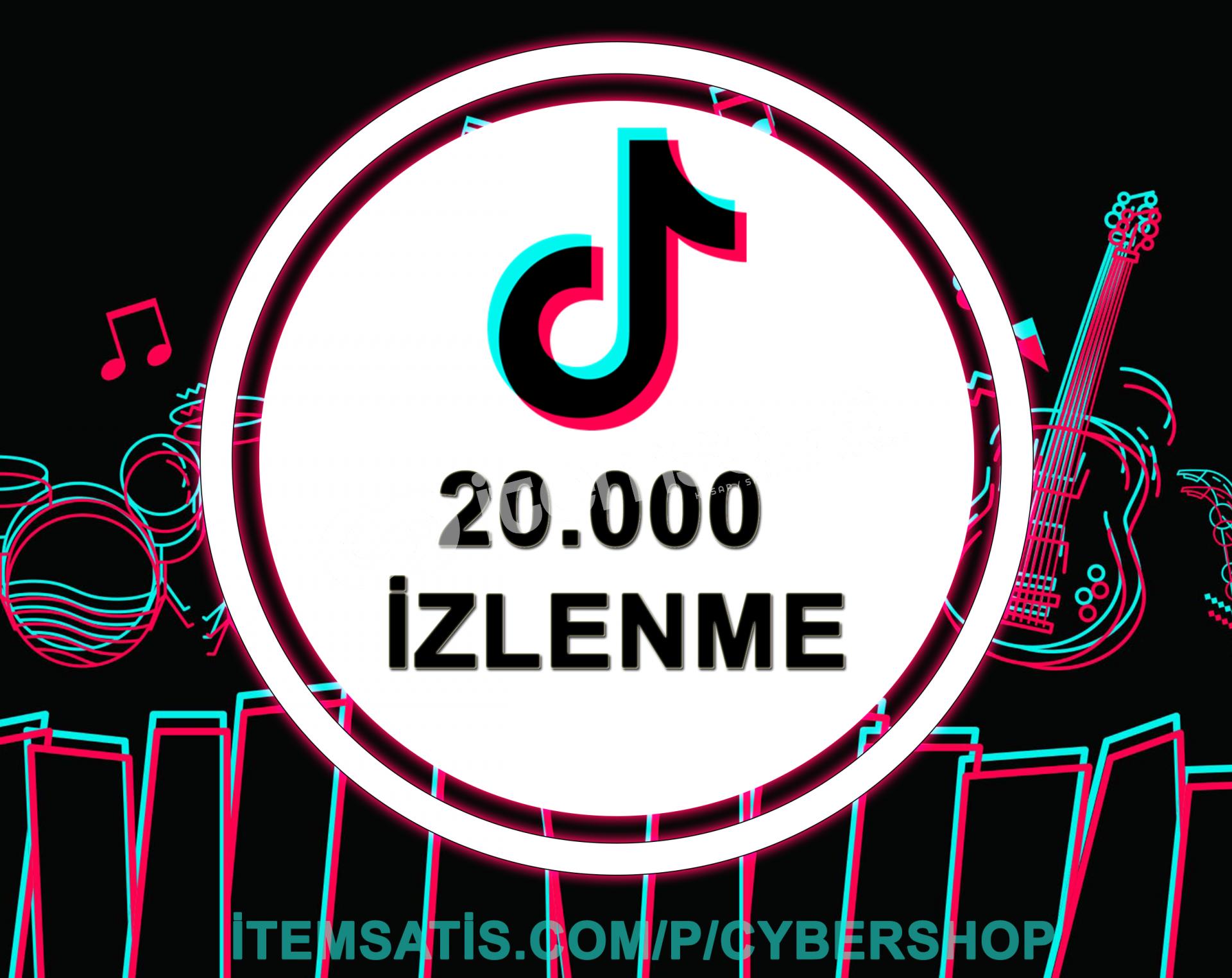 (2x) 20.000 İzlenme Paketi (Keşfet Etkili + Anlık Gönderim)