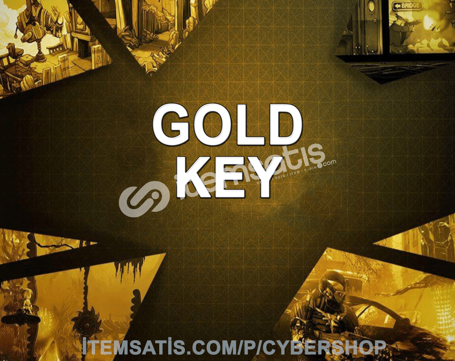 Steam Gold Key (Min: 5-200 TL)
