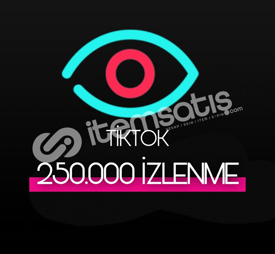 250.000 Tiktok İzlenme (Keşfet Etkili)
