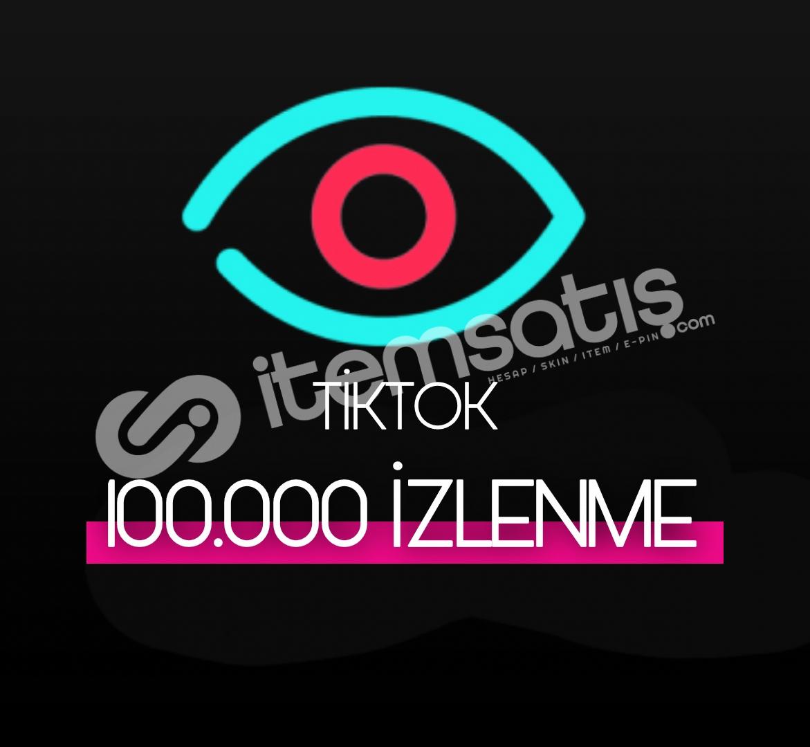 100.000 Tiktok İzlenme (Keşfet etkili)