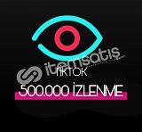 500.000 Tiktok İzlenme (Keşfet etkili)