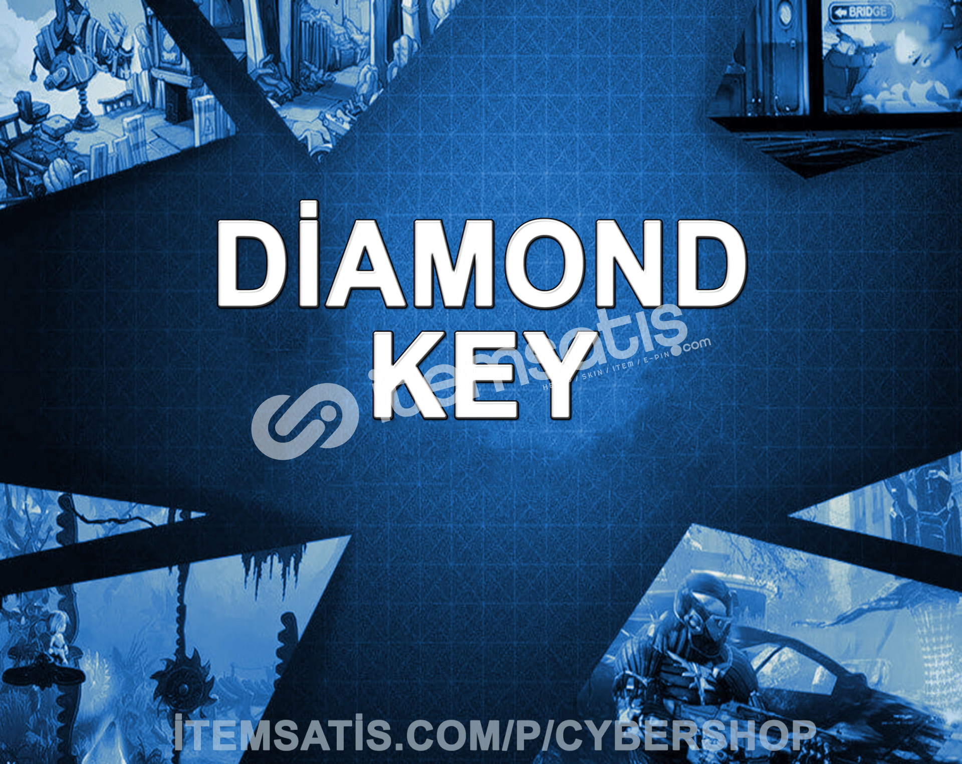 Steam Diamond Random Key (Min : 20-300)