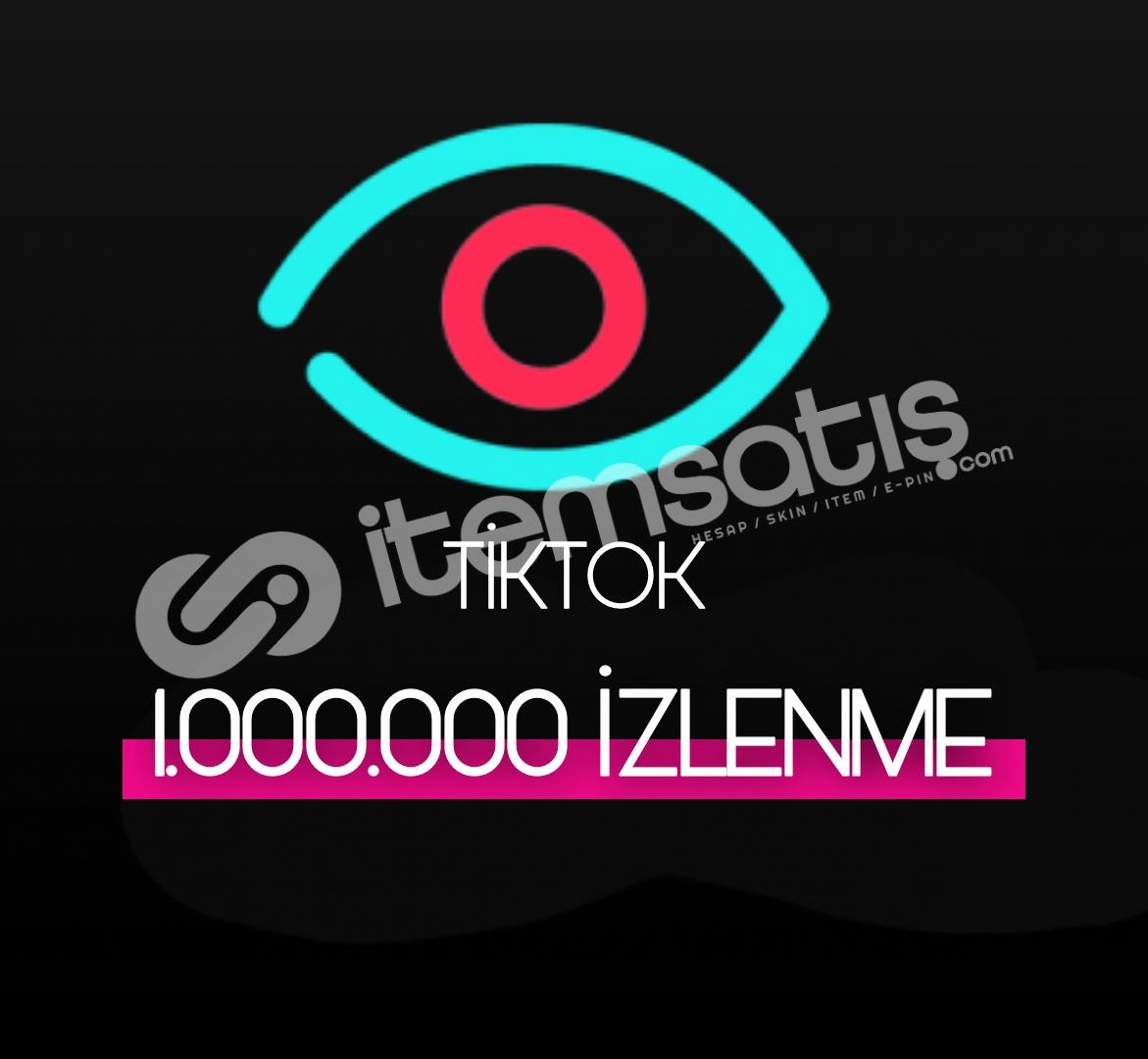 1.000.000 Tiktok İzlenme (Keşfet etkili)