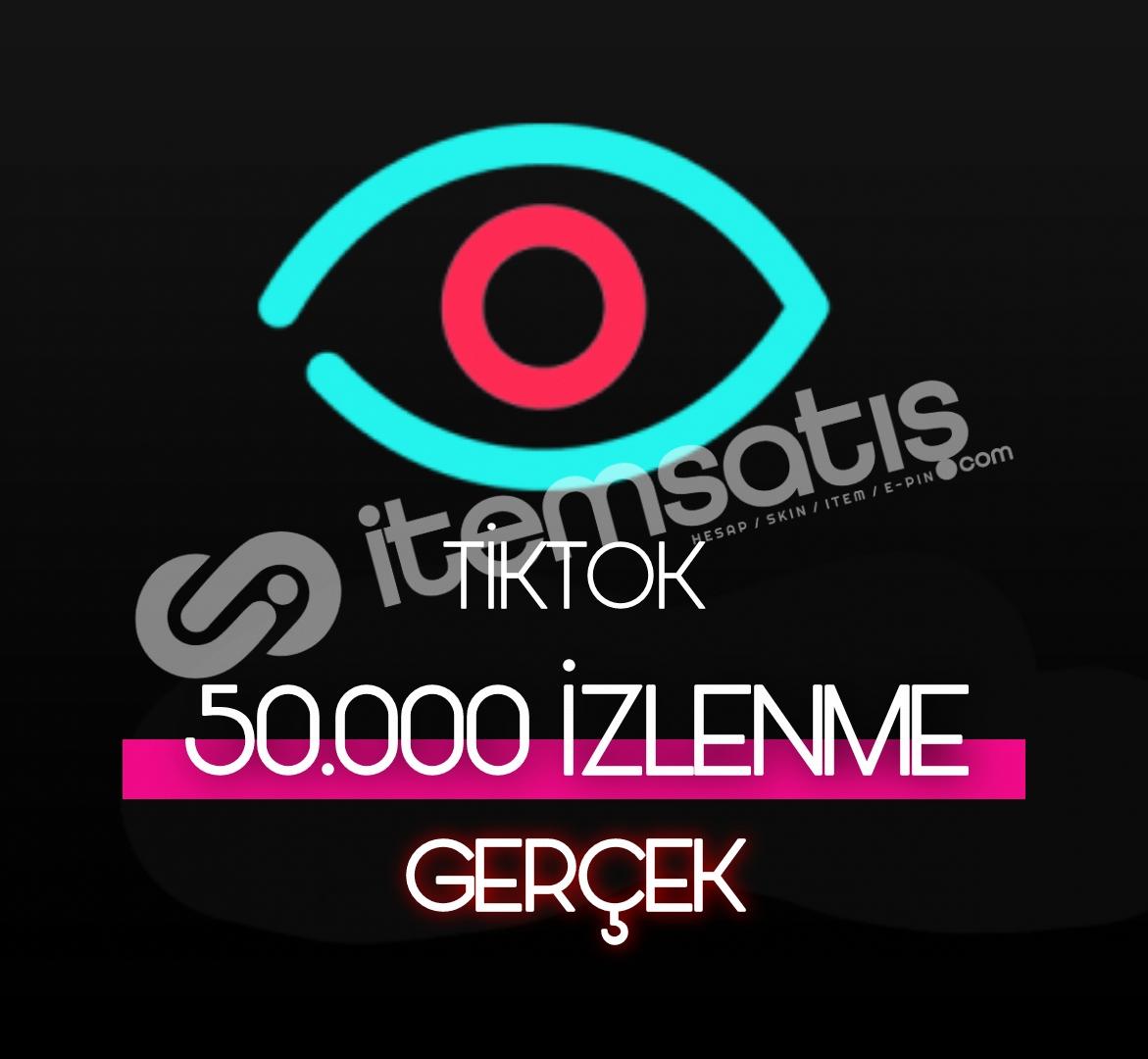 50.000 Tiktok Gerçek İzleyici (Keşfet etkili)