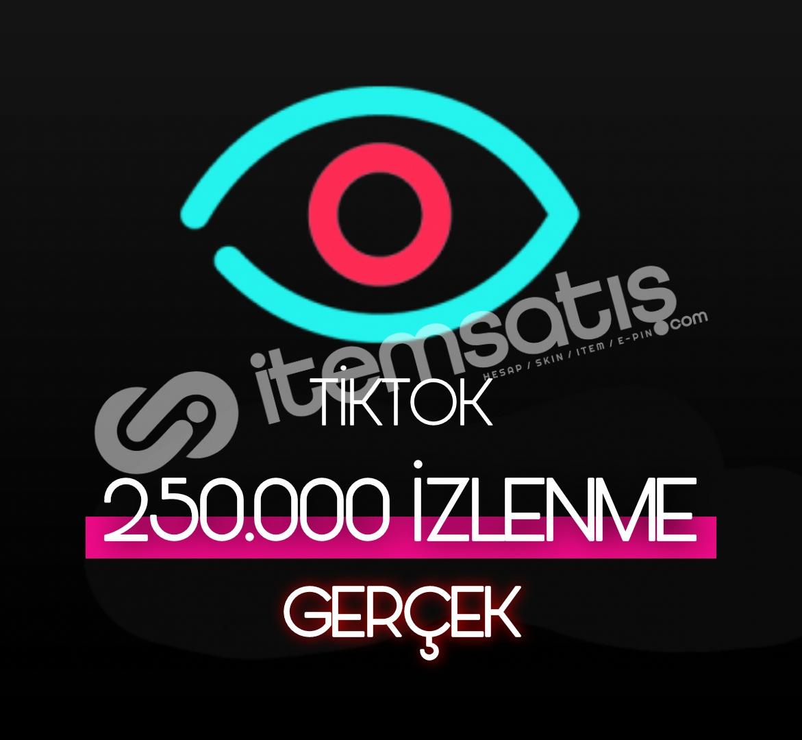 250.000 Tiktok Gerçek İzleyici (Keşfet etkili)