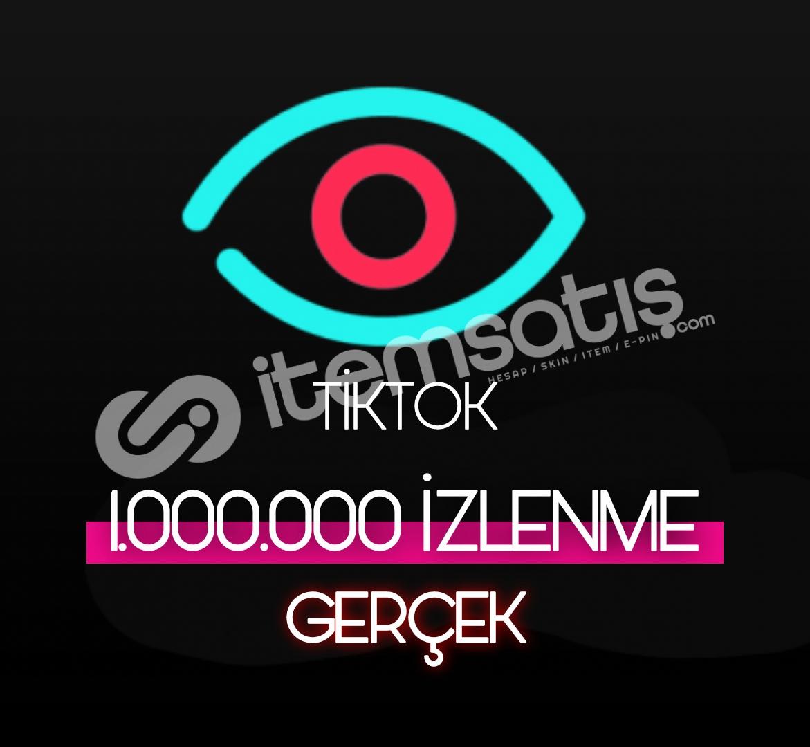 1.000.000 Tiktok Gerçek İzleyici (Keşfet etkili)