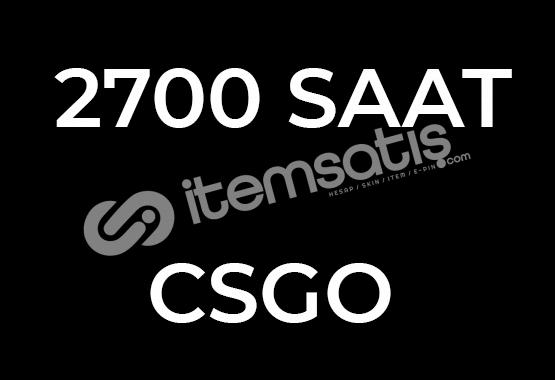 +2700 SAAT CSGO HESABI + İLK MAİL + FACEİT HAZIR