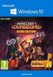Minecraft Dungeons Hero Edition Windows 10