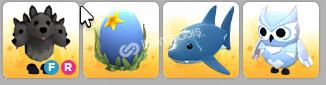 ADOPT ME PETLERİM+Ocean egg