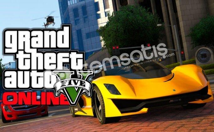 GTA 5 (Rockstar Games) Hesap Satılık! Ban'sız