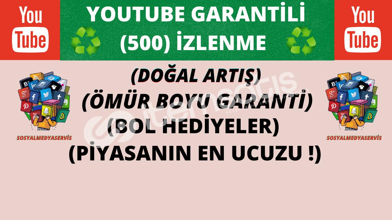 ♻️ (500) ÖMÜR BOYU GARANTİLİ İZLENME ♻️ | 8 TL