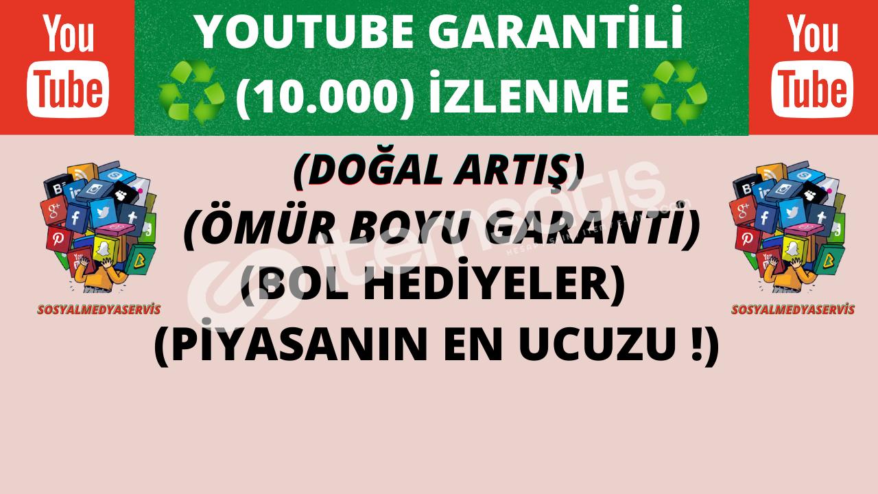♻️ (10.000) ÖMÜR BOYU GARANTİLİ İZLENME ♻️ | 110 TL
