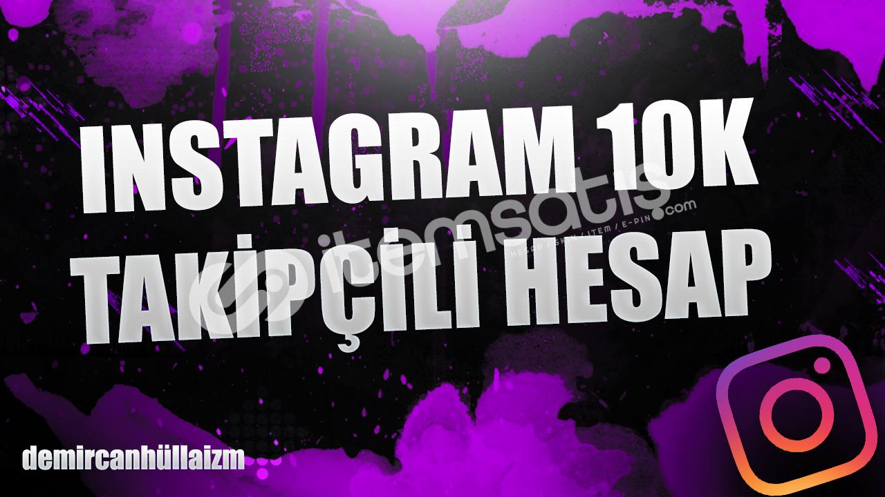 10.000 aktif üyeli instagram hesabı