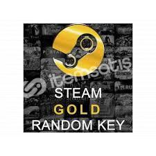 Steam random gold key