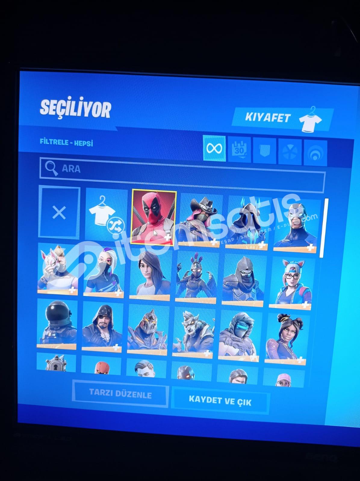 Fortnite OG 2.sezon +100 skin +600 dans hesap