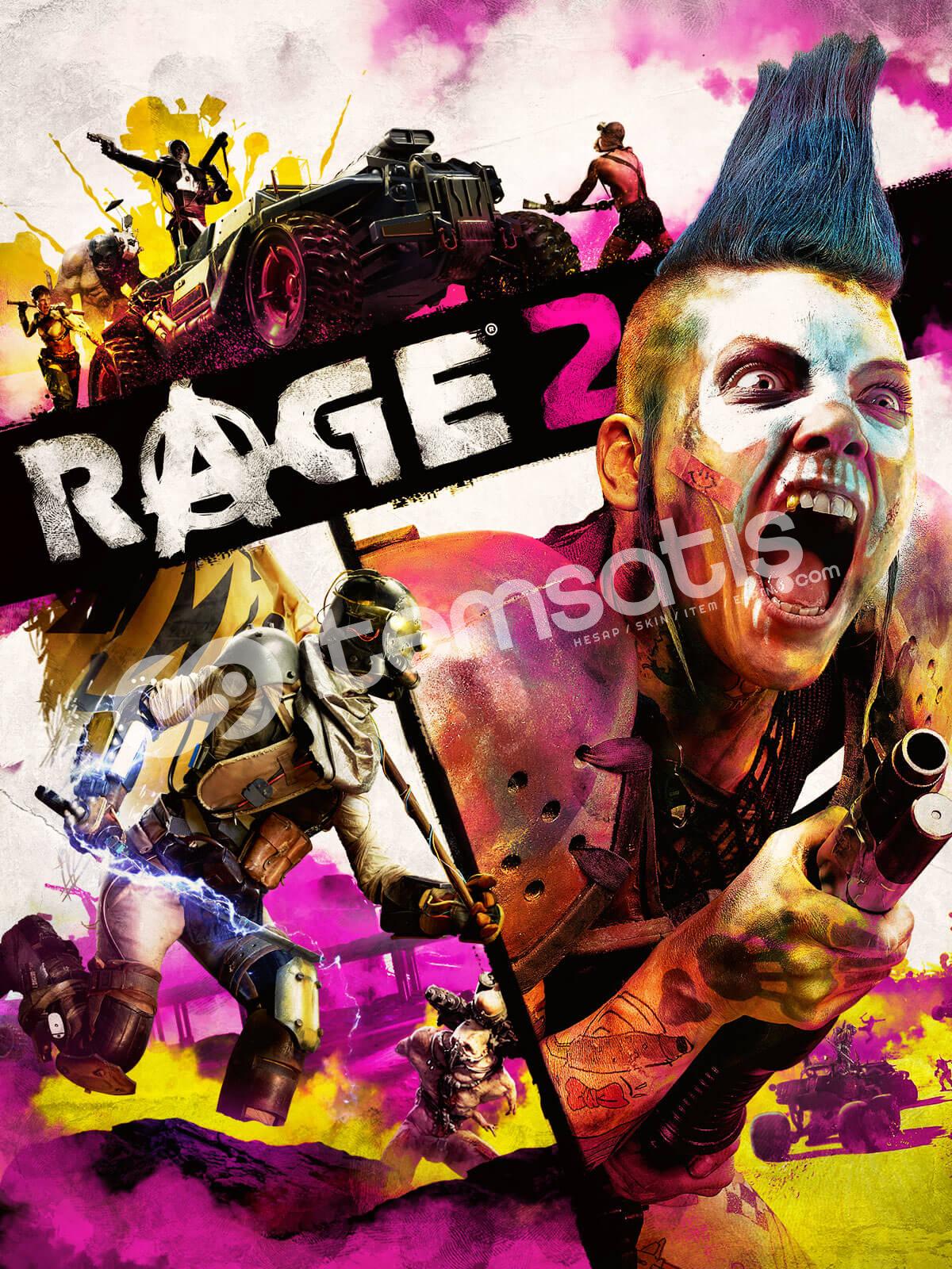 RAGE 2 +22 Oyun (Bayrama Özel Fiyat !!!)