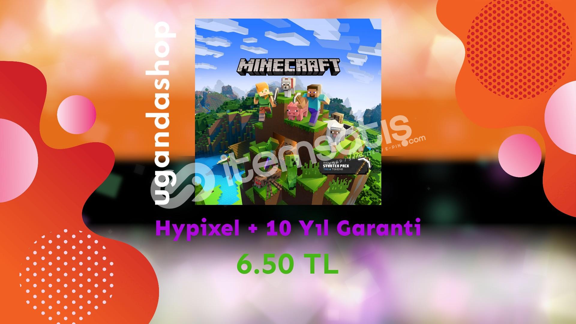 Minecraft Premium (Başlatıcıya Erişim) + 10 Yıl Garanti