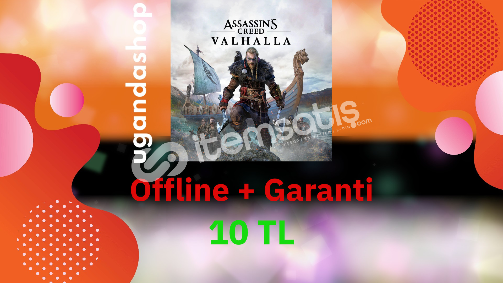 Assassin's Creed Valhalla Offline Ubisoft Hesap