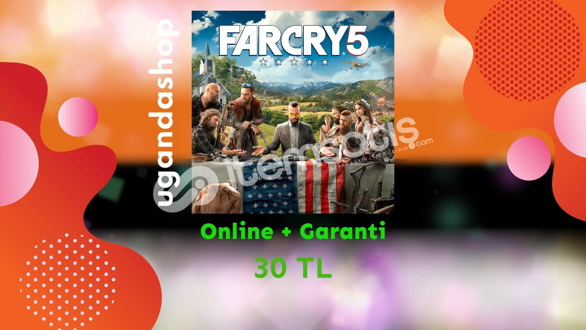 Far Cry 5 Online Uplay Hesap + Ömür Boyu Garanti