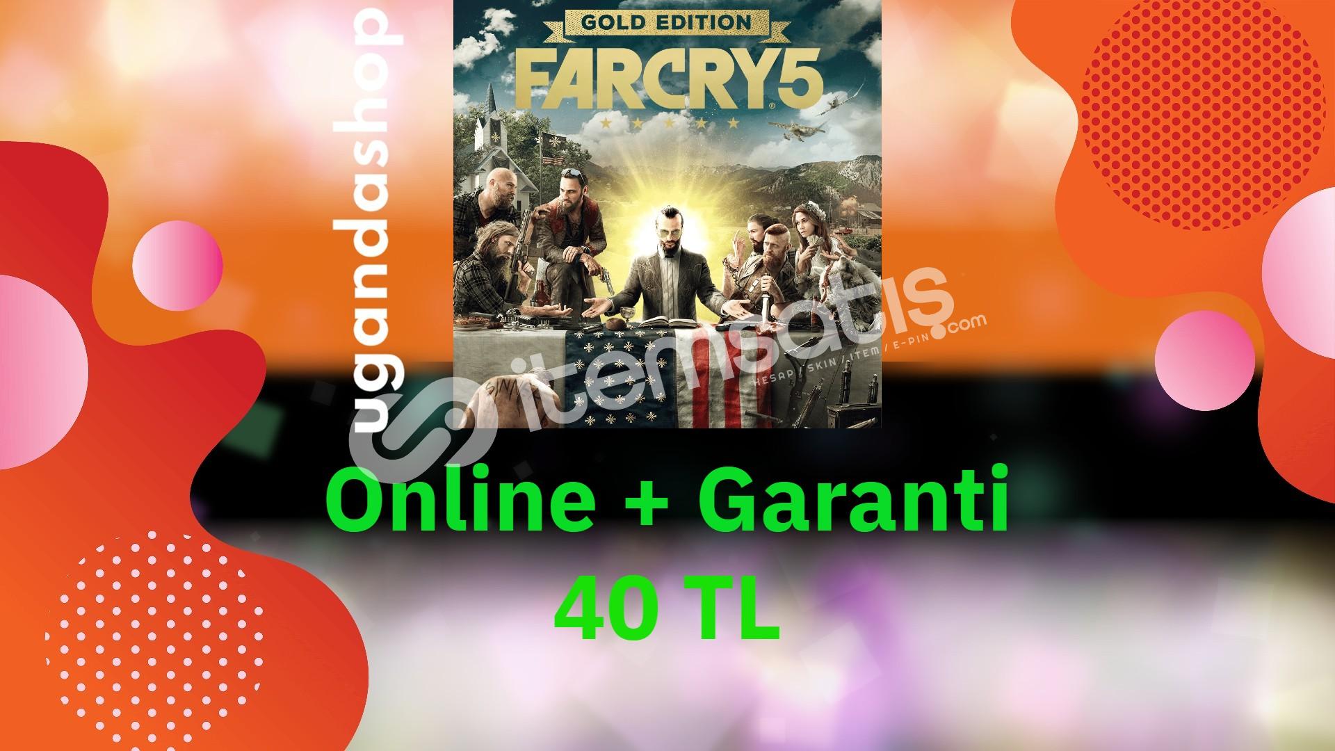 Far Cry 5 Gold Edition Online Ubisoft Hesap