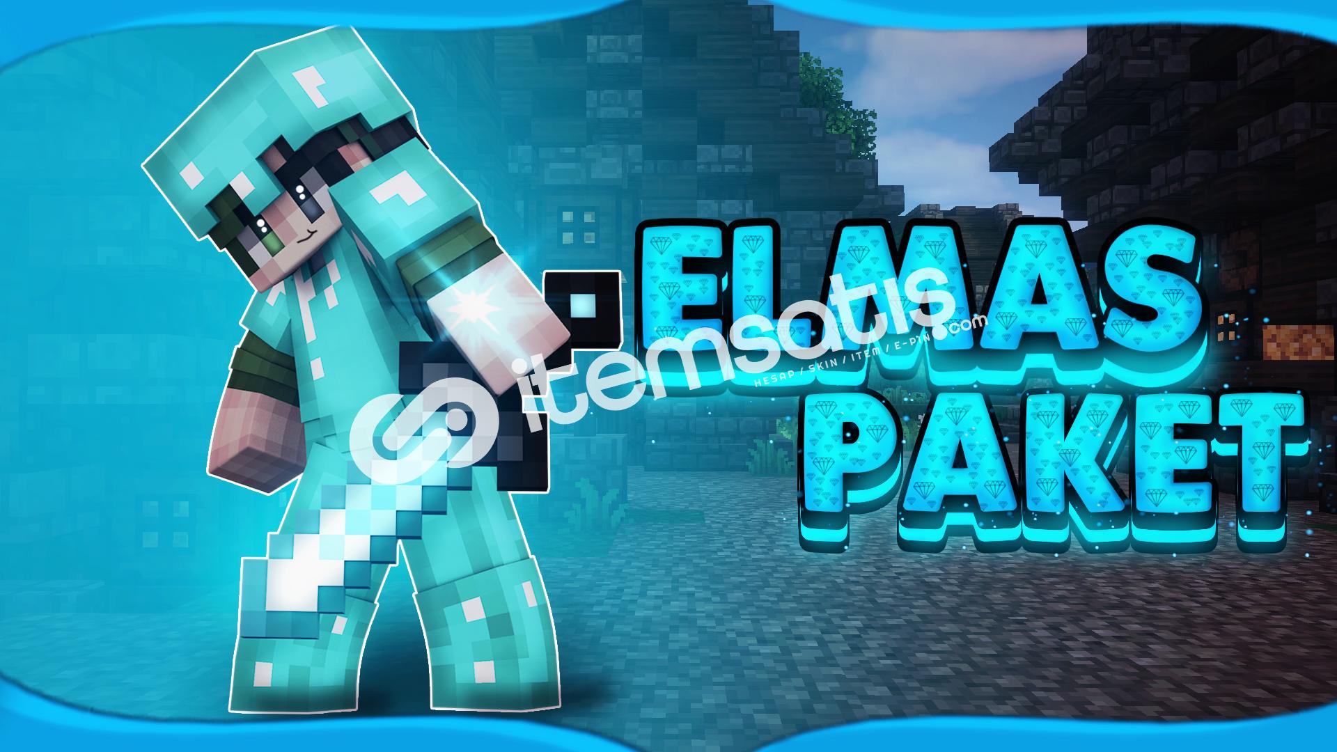 Minecraft Elmas Premium | Skin + Nick Değişir!