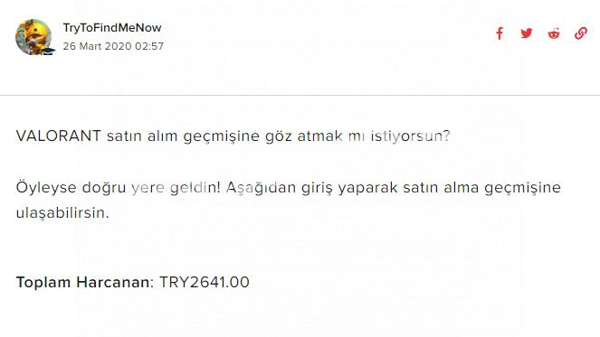 PLATİNUM ELO - 2641 TL DOLU HESAP - TAKAS YOK