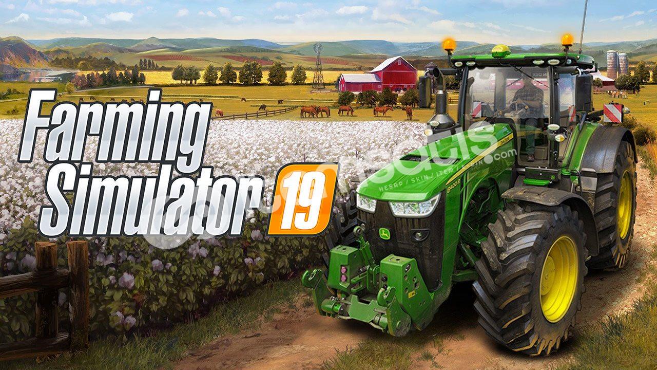 Farming Simulator 19 + ONLİNE + PG + SINIRSIZ + GARANTİLİ