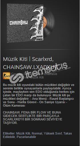Müzik Kiti | Scarlxrd, CHAIN$AW.LXADXUT.