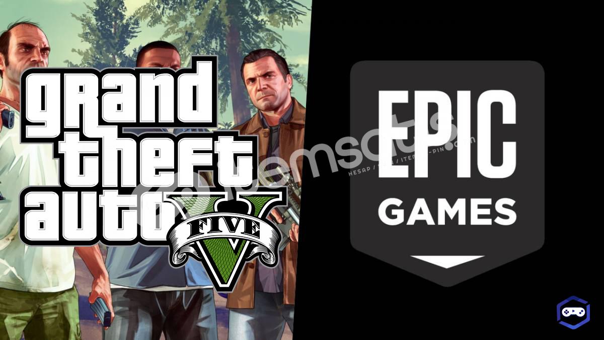 Grand Theft Auto V ve 22 OYUN (epic games hesap)