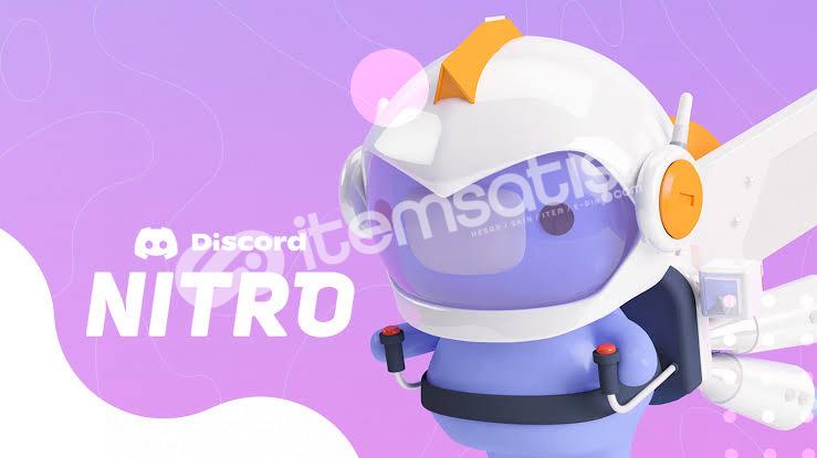 Discord nitro 3 aylık 2 adet 3,50 tl (BOOSTLU)