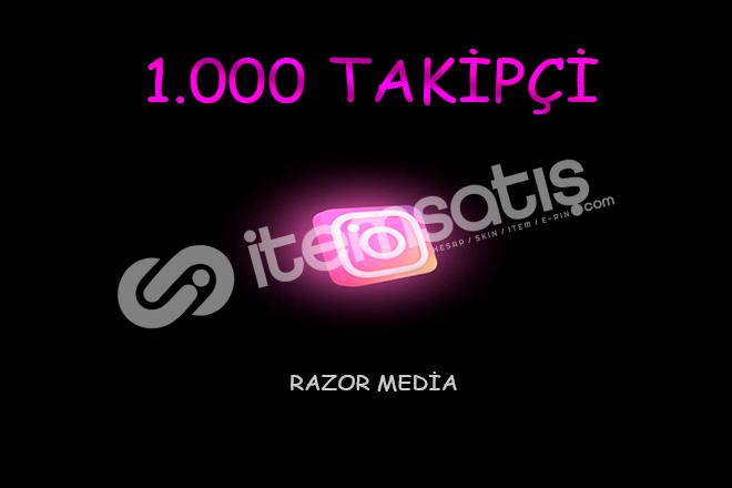 İNSTAGRAM 1 .000 TAKİPÇİ
