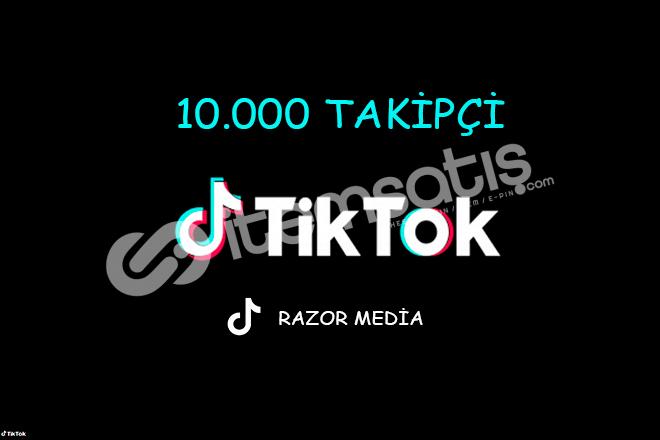TİKTOK 10.000 TAKİPÇİ