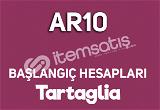 AR10 Tartaglia | Temiz Başlangıç Hesapları