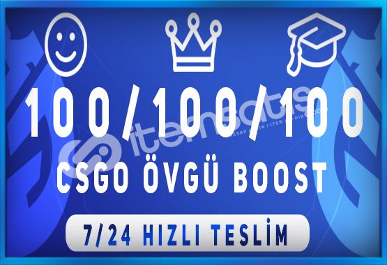 KAÇIRMAA ! 300 ÖVGÜ BOOST HİZMETİ 7/24 HIZLI TESLİM !