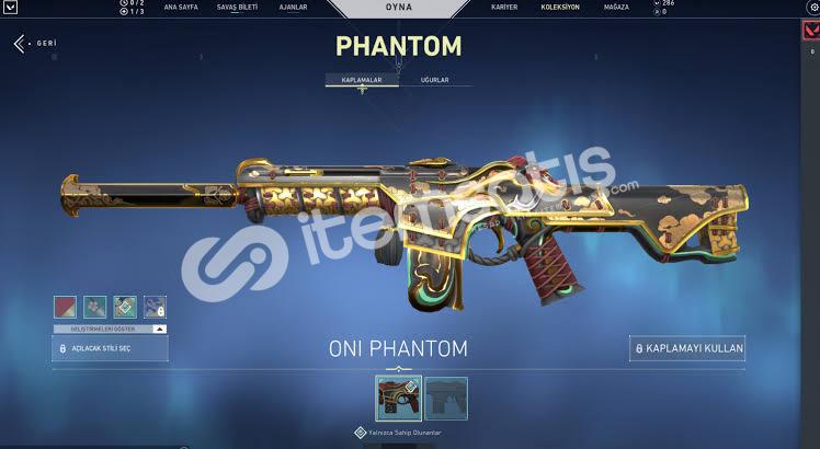 Oni phantom iyon op bp3 baltası