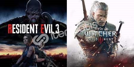 Resident Evil 3 + The Witcher 3 5 TL !