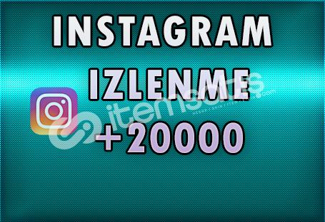 +20.000 Türk İzlenme - [ÖZEL FİYAT]