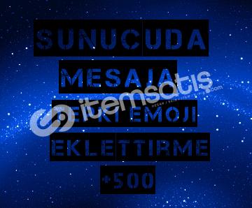 Discord Mesaja +500 Emoji Tepki Eklettirme!