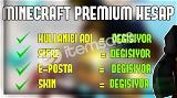 minecraft 5 adet premimum hesaplar