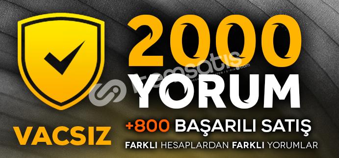 2000 VACSIZ YORUM