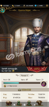 Game of sultans oyun hesabı vip2