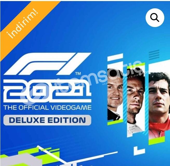 F1 2021 deluxe edition açıklamayı okuyun