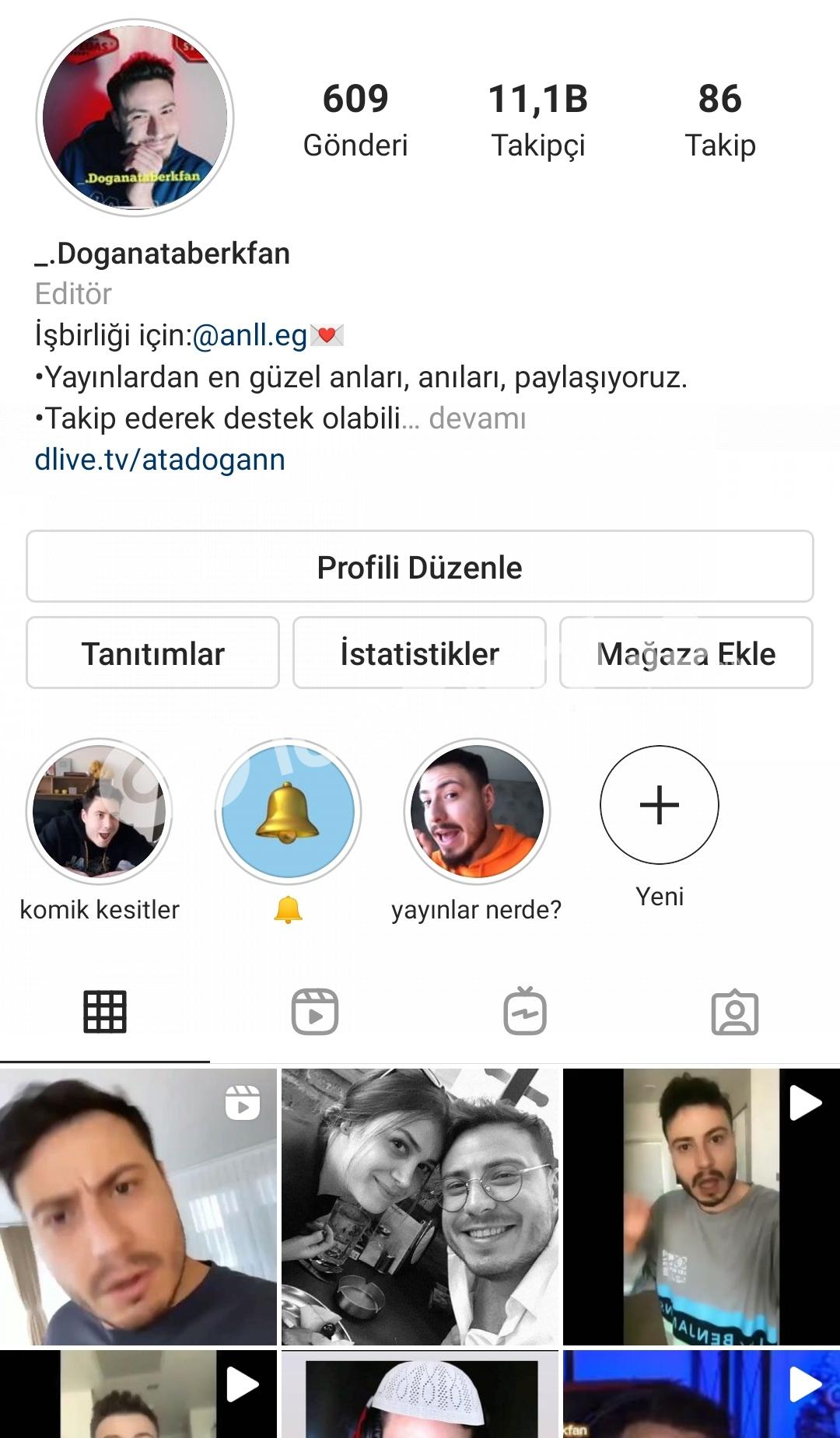 11k takipçili Instagram hesap 1tane bile bot yok