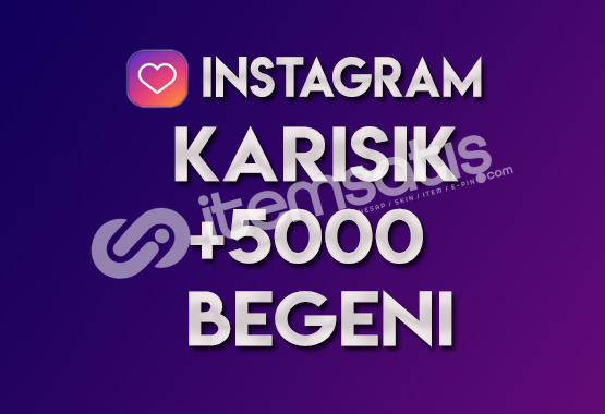 5.000 Karışık Beğeni (KEŞFET ETKİLİDİR)