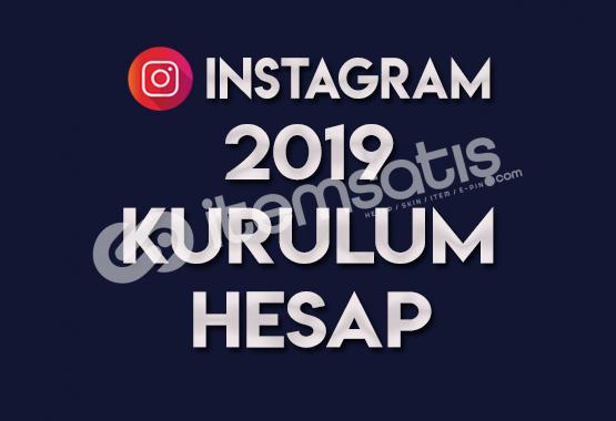 2019 KURULUM SIFIR HESAP